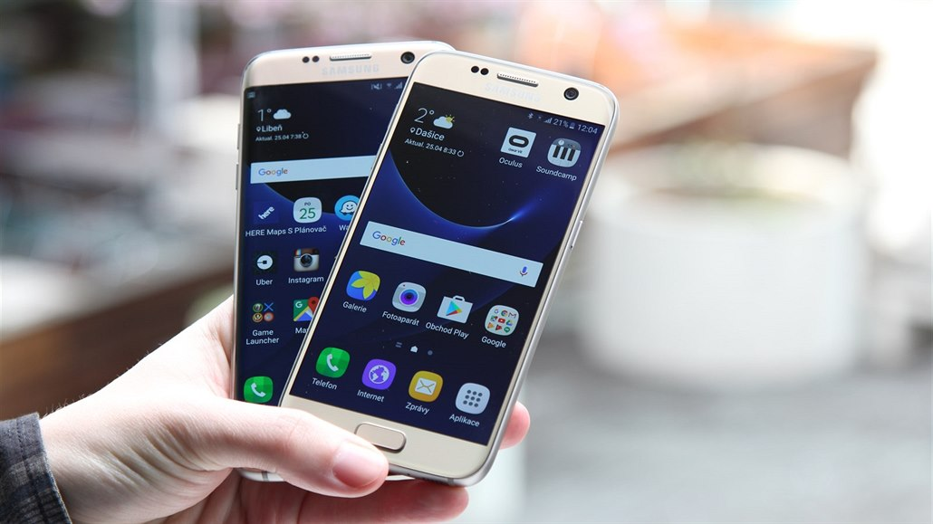 Samsung Galaxy S7 a S7 edge