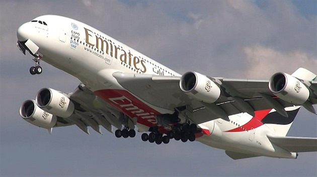 Airbus A380 Fly Emirates