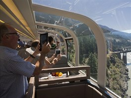 Rocky Mountaineer train, Canada
