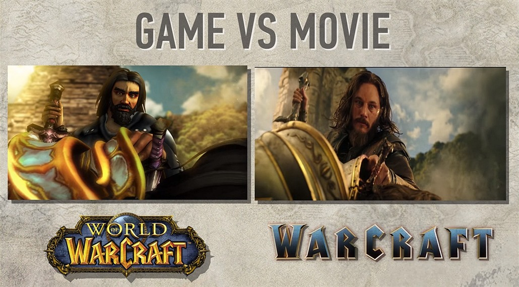 Warcraft - hra vs. film