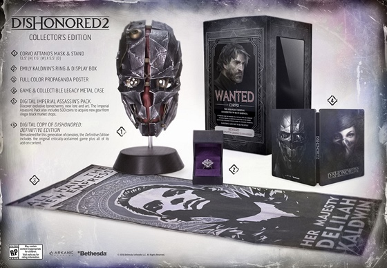Dishonored 2 Collector's Edition
