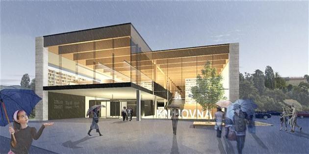 Nová krajská knihovna by se v Brodě mohla začít stavět na sklonku léta