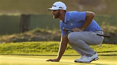 Dustin Johnson na US Open