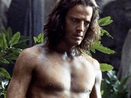Christopher Lambert ve filmu Tarzan (1984)