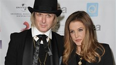 Michael Lockwood a Lisa Marie Presley (Los Angeles, 10. května 2012)