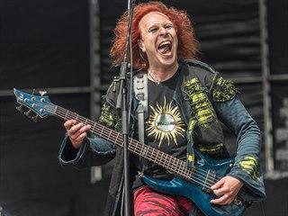 Kapela  Waltari na festivalu Masters of Rock ve Vizovicích v roce 2016.