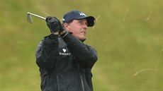 Phil Mickelson na golfovém British Open.
