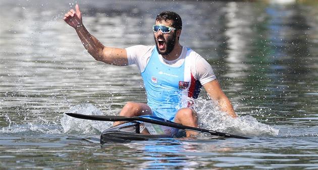 Ele ficou nervoso por uma semana, então ele era um herói de jogo. Dostal se tornou uma lenda no Rio