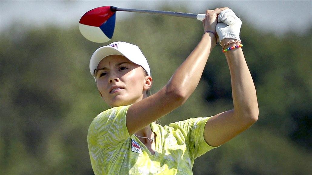 Golfistka Spilková na PGA Championship úvodní kolo nezvládla