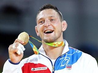 ČESKÉ ZLATO! Český judista Lukáš Krpálek zvítězil v olympijském finále nad...
