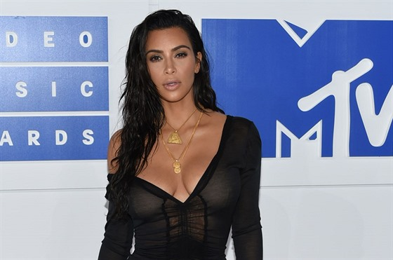 Kim Kardashianová na MTV Video Music Awards (New York, 28. srpna 2016)