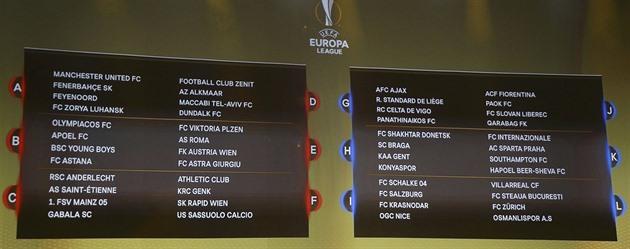 Los Evropské Ligy 2019: Italský Los: Plzeň Jde Na Řím, Sparta Na Inter A Liberec