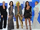 Amber Rose, Ashley Grahamová, Cassie, Kim Kardashianová a Beyoncé