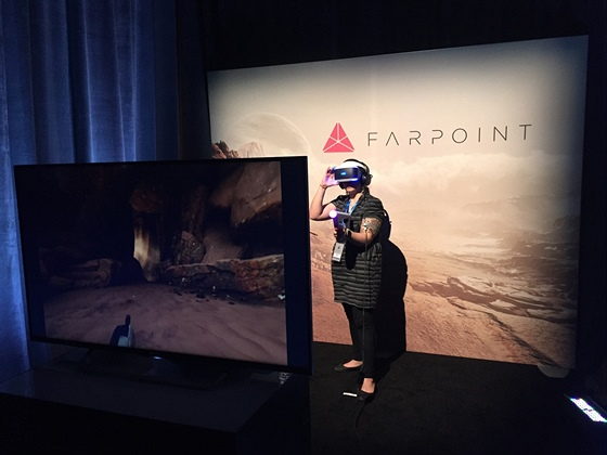 PlayStation VR - Farpoint