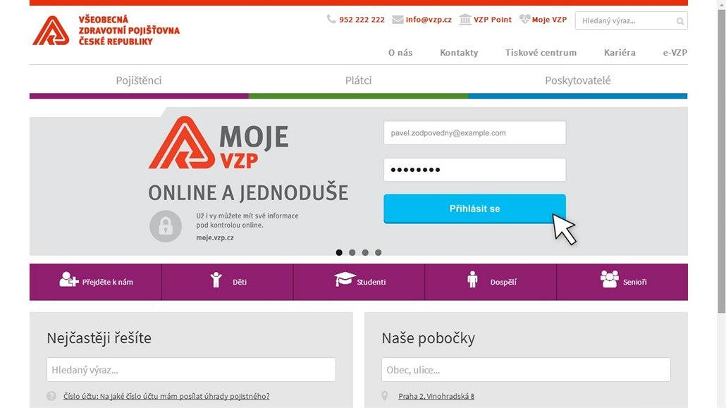 Lekarska Pece Pod Drobnohledem Vzp Spustila Novy Web Pro Pojistence