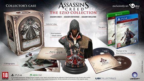 Assassin's Creed: The Ezio Collection - sběratelská verze