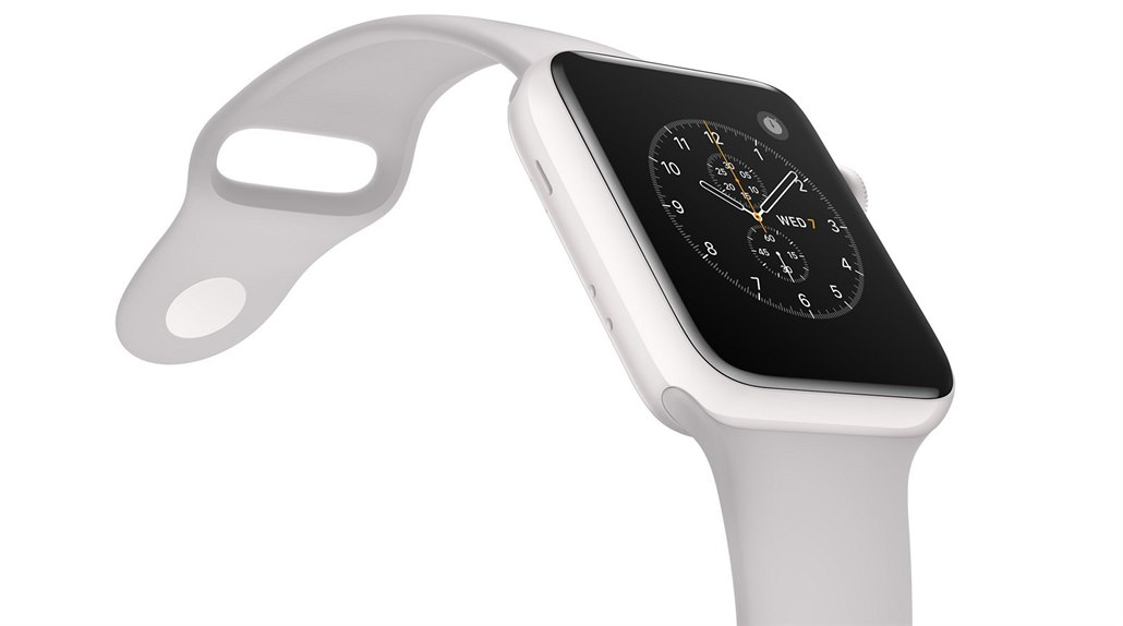 Apple Watch Edition Series 2: zlato střídá keramika.