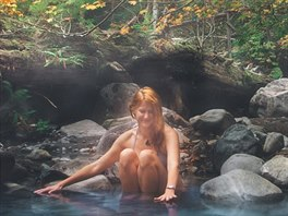 Sloquet hot springs, Kanada