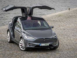 Tesla Model X P90D Ludicrous