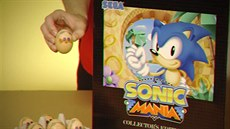 Retro reklama na Sonic Mania Collector's Edition