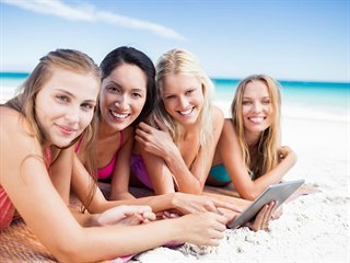 Tablet oceníte doma, v práci i na pláži.