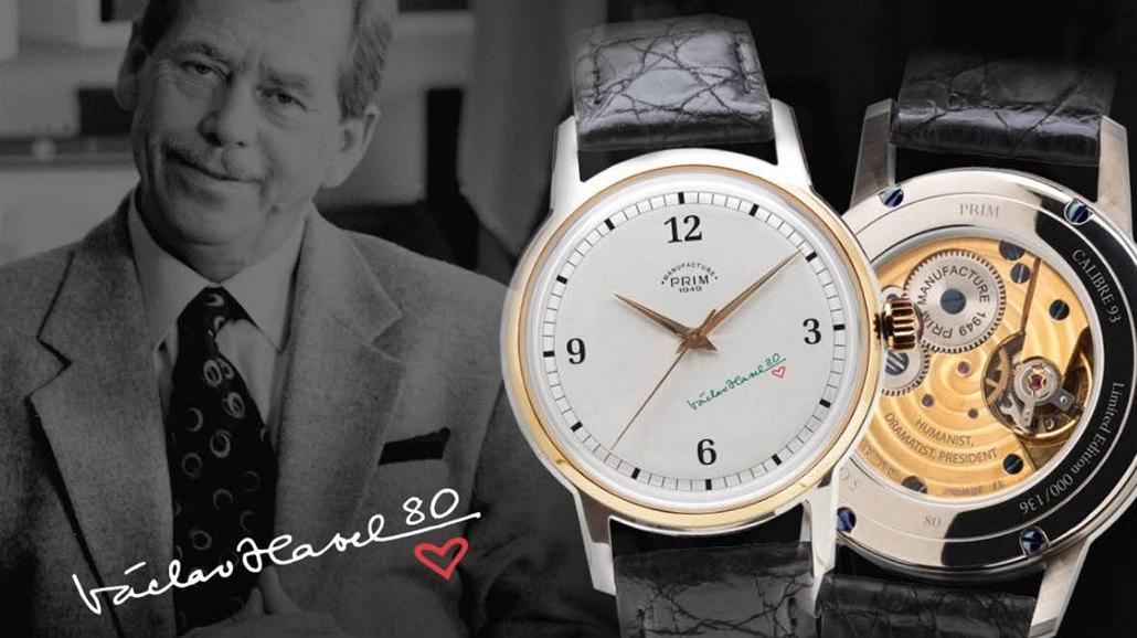 Limitovaná edice hodinek Prim Manufacture k nedožitým 80. narozeninám. 3c214f6fdf
