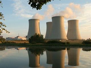 Ráno začal na padesát  procent pracovat II. blok jaderné elektrárny Temelín.