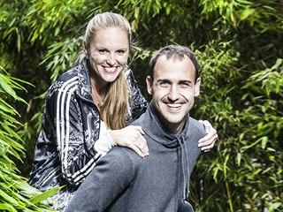 Kristýna Hoidarová Kolocová a Martin Hoidar
