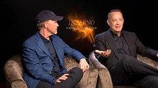 Ron Howard a Tom Hanks o filmu Inferno