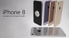 iPhone 8 concept by Armend Lleshi