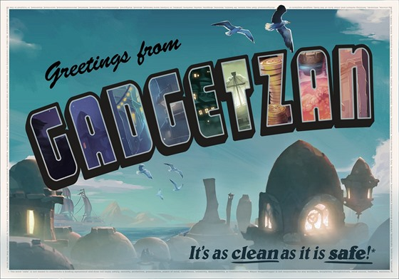 Pohlednice Greetings from Gadgetzan