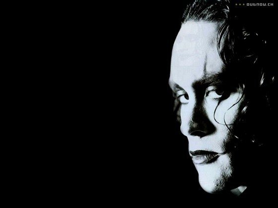 Brandon Lee ve filmu Vrána