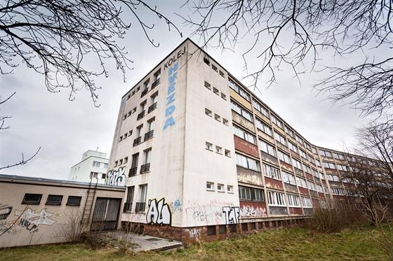 Studentské koleje Hvìzda na pražském Bøevnovì