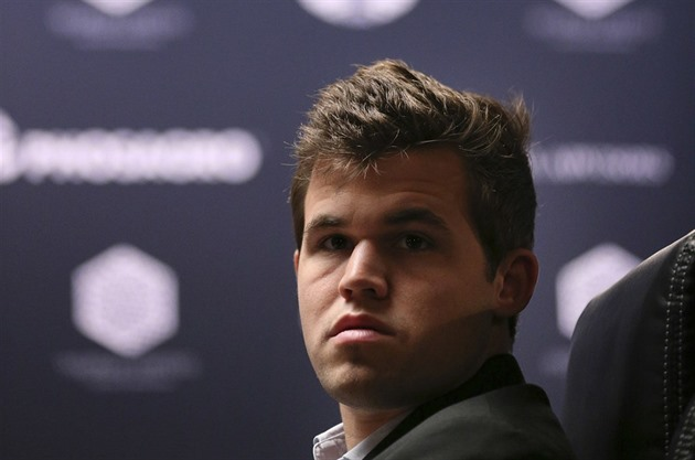 Magnus Carlsen, trojnásobný mistr světa v šachu.