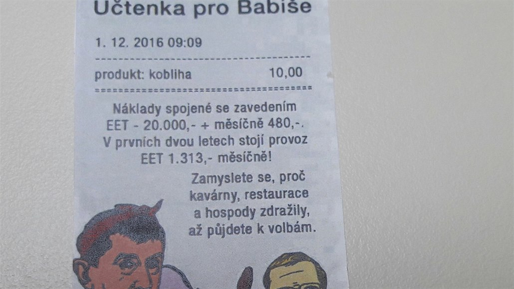 Poslanci Top 09 Prisli Do Prace S Uctenkou Pro Babise Na Klope