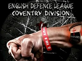 Plakát hnutí English Defence League