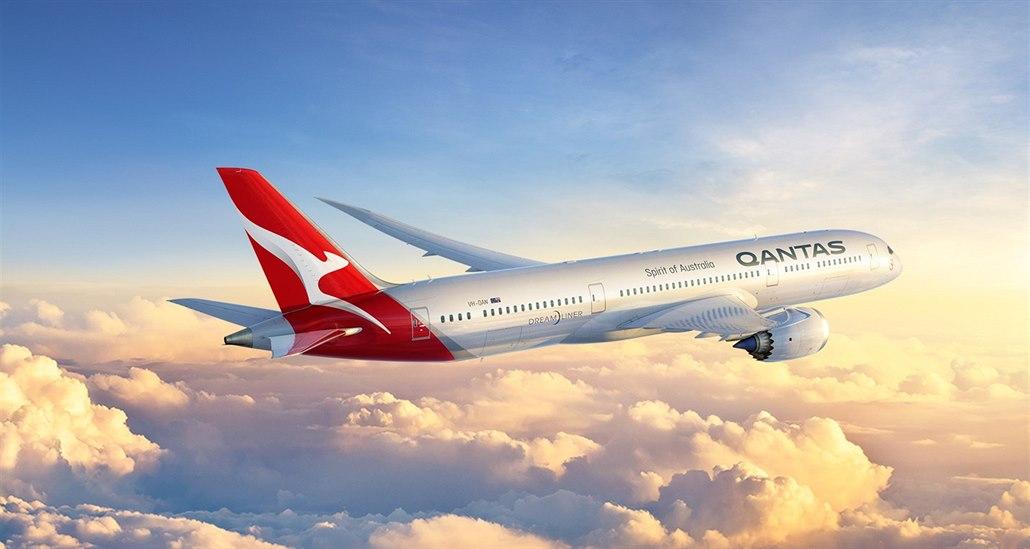 Qantas na linku Perth - Londýn nasadí letoun Boeing 787-9 Dreamliner.