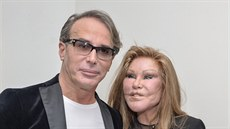 Jocelyn Wildensteinová s partnerem Lloydem Kleinem