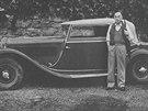 Erich Maria Remarque před svojí dilambdou v roce 1963. Originální článek vyšel...