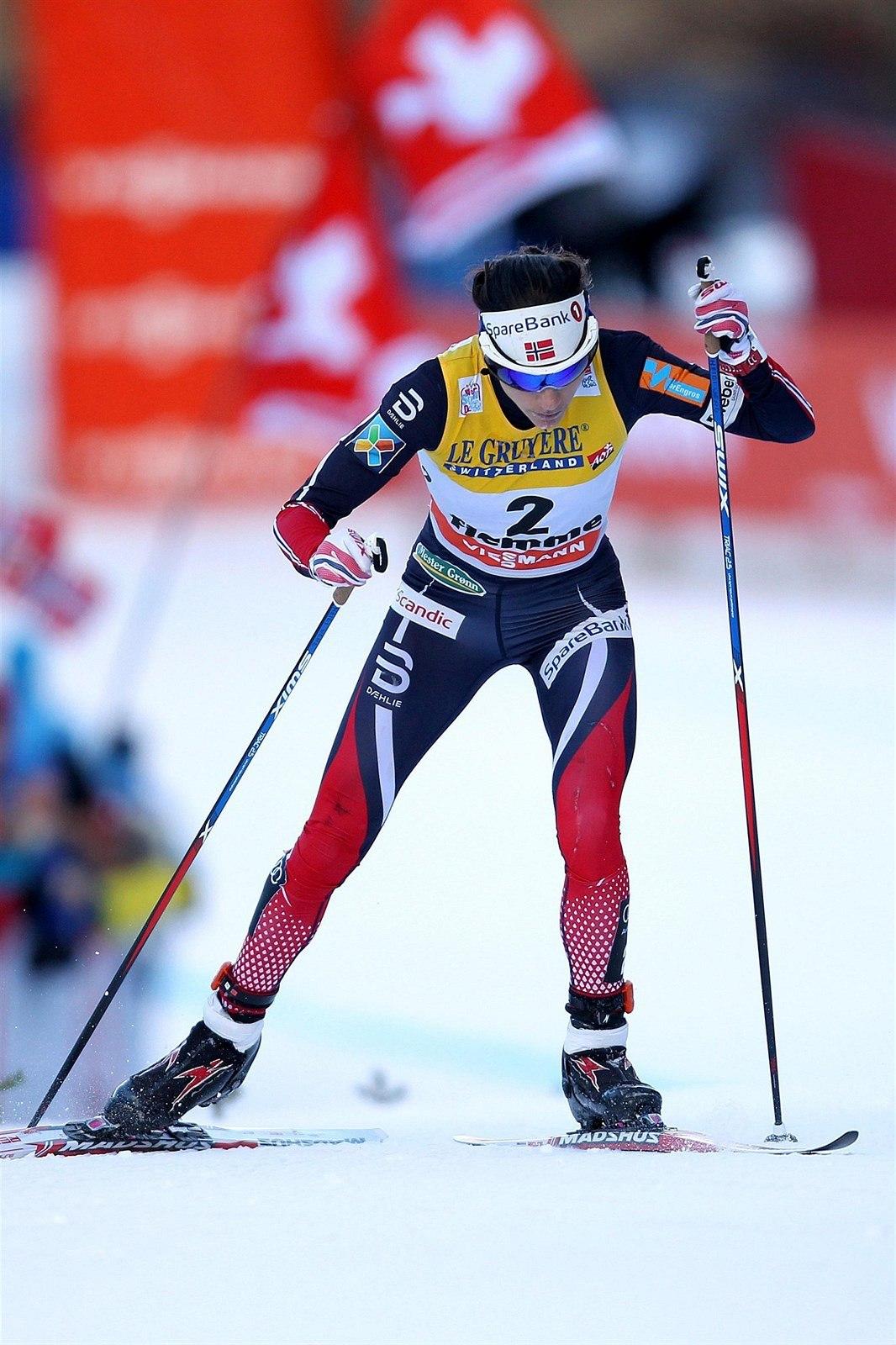 Heidi Wengová je norská královna běžeckého lyžování