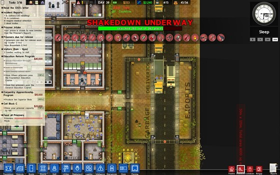 Sanitka v Prison Architect