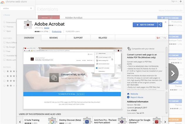 Firma Adobe v rámci aktualizace tajně propašovala rozšíření
