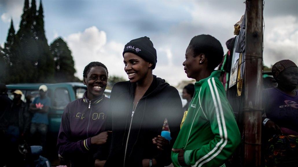 Černé lesbičky v jižní africe