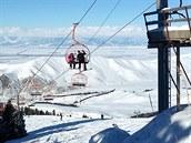 Vyzkoušeli jsme lyžařské centrum Karakol v Kyrgyzstánu.