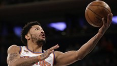 Derrick Rose v dresu New York Knicks