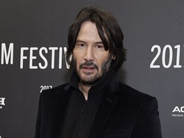 Keanu Reeves (Park City, 22. ledna 2017)