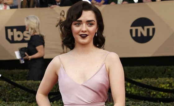 Maisie Williamsová na SAG Awards (Los Angeles, 29. ledna 2017)