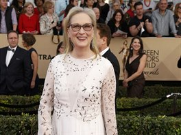 Meryl Streepová na SAG Awards (Los Angeles, 29. ledna 2017)