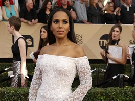 Kerry Washingtonová na SAG Awards (Los Angeles, 29. ledna 2017)