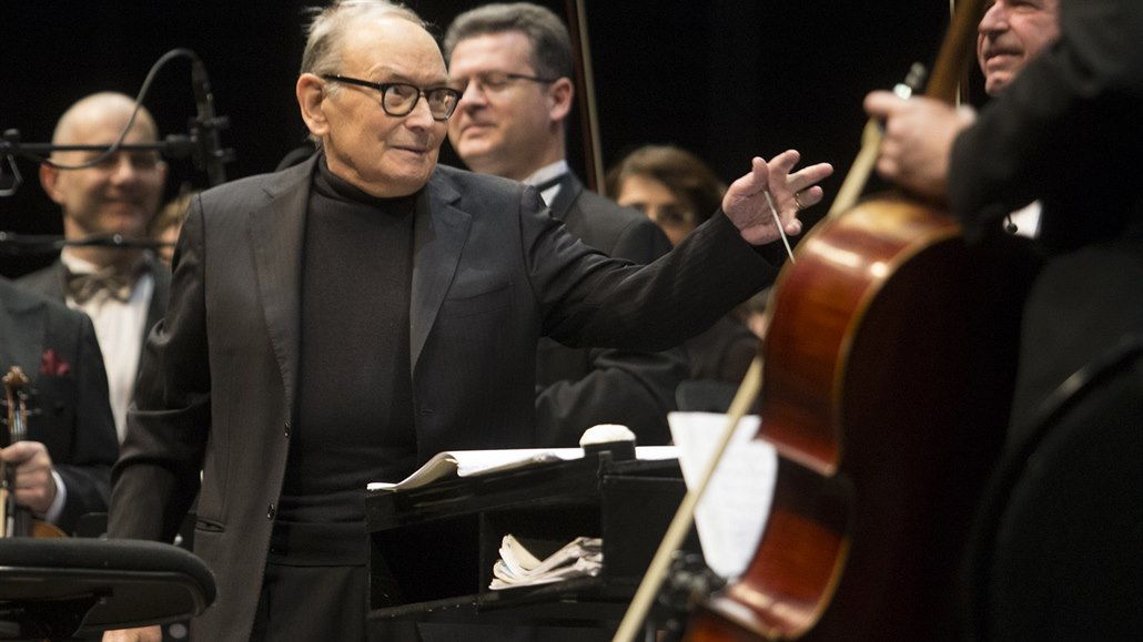 Ennio Morricone, 60 Years of Music World Tour (O2 arena, Praha, 4. února 2017)